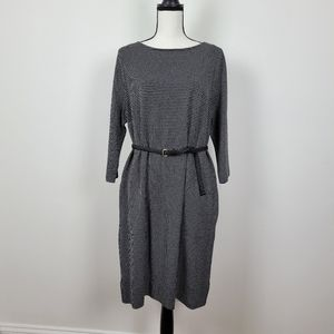 J.Jill Ponte shift dress size Medium